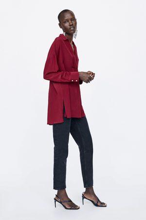rendimiento confiable Buenos precios varios diseños Blusa seda oversize