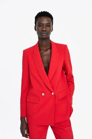 Zara Mujer Sacos - Blazer crepe