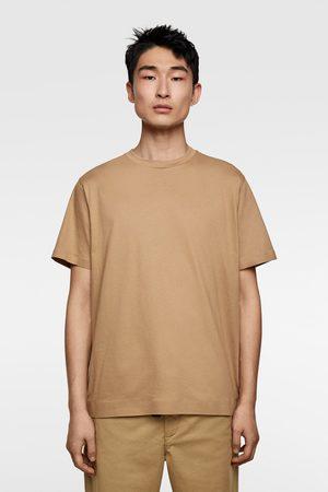 Zara Hombre Playeras - Camiseta acabado mercerizado