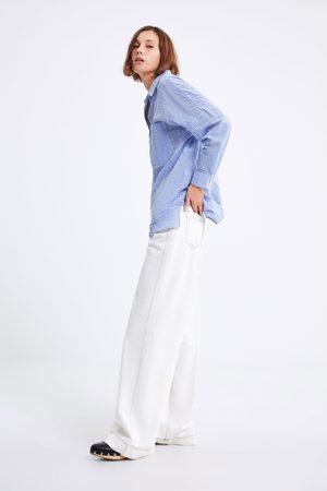 Zara Camisa rayas oversize