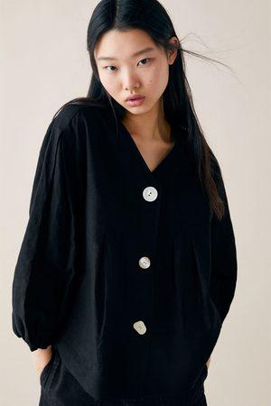Zara Blusa botones