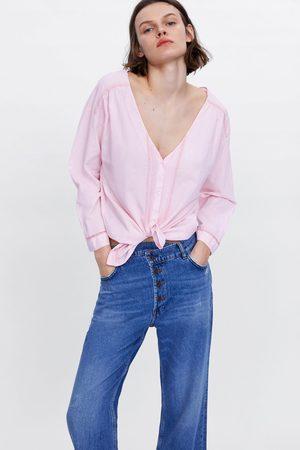 Zara Camisa jaretas
