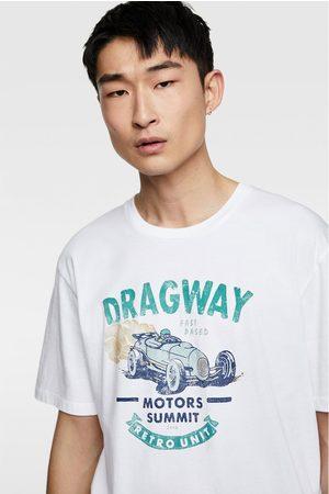 Zara Camiseta estampado vintage