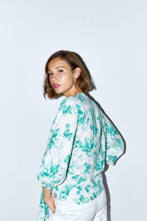 Zara Cuerpo rústico estampado floral