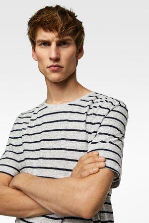 Zara Camiseta estructura rayas