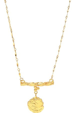 Alighieri Mujer Collares - The Impossible Horizon 24kt -plated bronze necklace