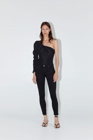 Zara Jeans zw premium skinny stay black