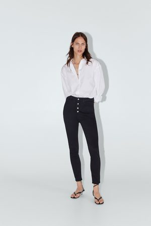 Zara Jeans zw premium high waist fly button