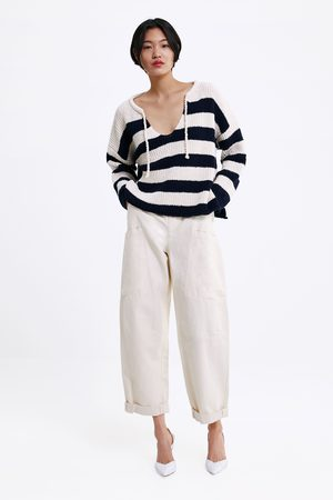 Zara Mujer Suéteres - Jersey punto