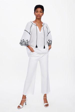 Zara Cuerpo bordados combinados