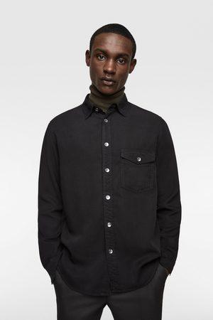 Zara Hombre Camisas - Camisa relaxed