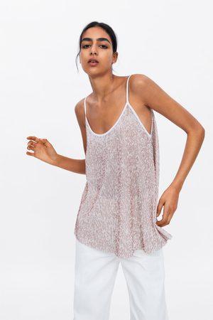 Zara Camiseta rayas estructura