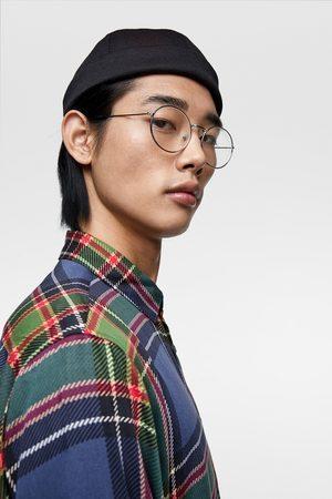 Zara Camisa fluida cuadros