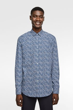 Zara Camisa estampado floral easy care
