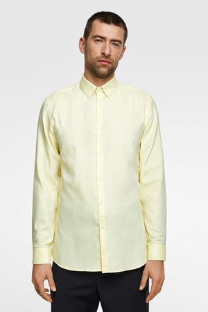 Zara Camisa estructura easy care