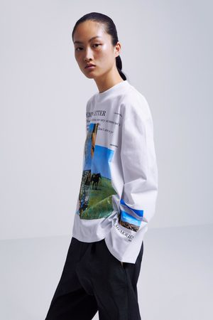 Zara Camiseta estampado fotográfico