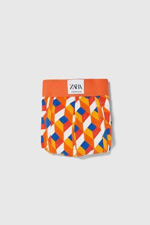 Zara Hombre Boxers y trusas - Bóxer estampación geométrica