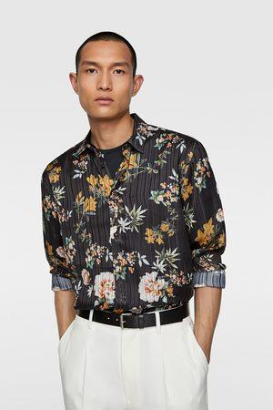 Zara Camisa estampación floral