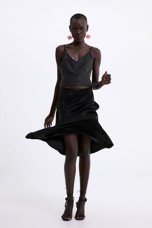 Zara Mujer Tops - Top efecto piel