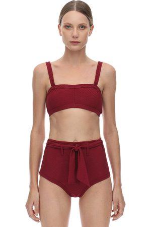 Peony Sangria Bikini Top