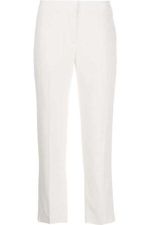 Alexander McQueen Pantalones de vestir capri