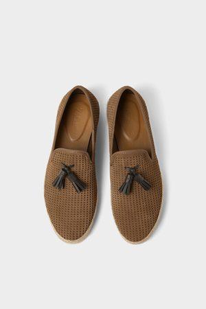Zara Hombre Zapatos - Zapato piel suela yute
