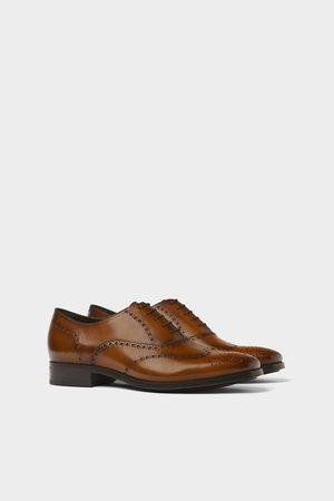 Zara Hombre Zapatos - Zapato piel picados