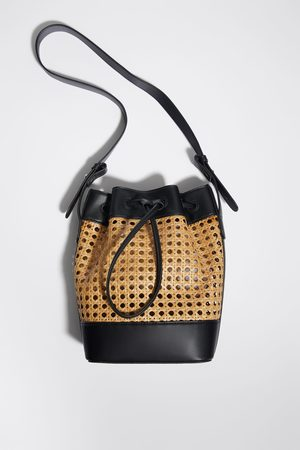 Zara Mujer Bolsas - Bolso saco trenzado