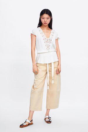 Zara Cuerpo combinado crochet