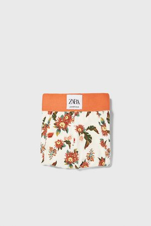 Zara Bóxer estampado floral