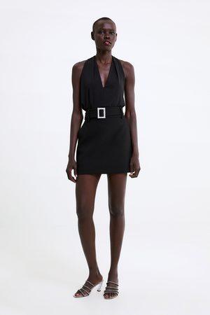 Zara Mujer Tops halter - Top cuello halter