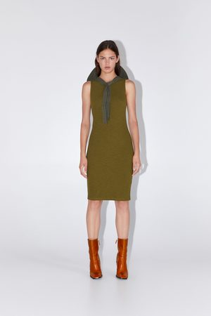 Zara Vestido tubo textura