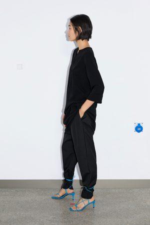 Zara Vestido corto estructura