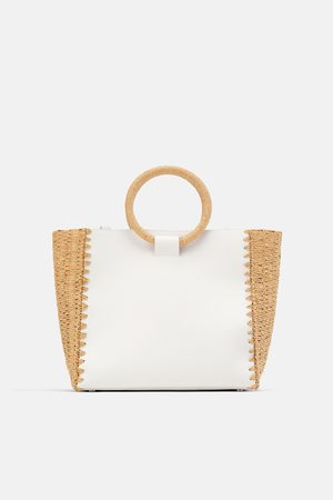 Zara Bolso shopper natural