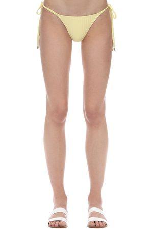Peony Braguitas De Bikini Acanaladas