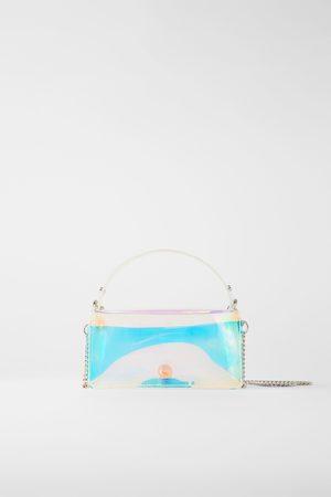 Zara Mujer Bolsas - Bolso mini city iridiscente