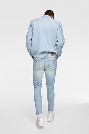 Zara Hombre Skinny - Jeans skinny cropped