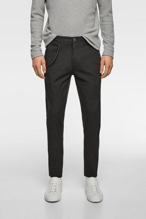 Zara Hombre Pantalones y Leggings - Pantalón estructura