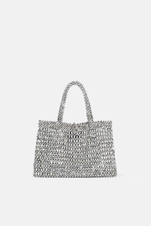 Zara Mujer Bolsas - Mini shopper metalizado