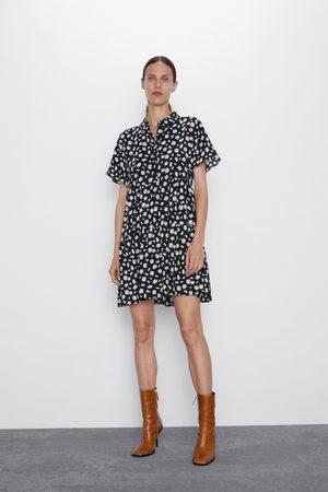 Zara Mujer Estampados - Vestido estampado margaritas