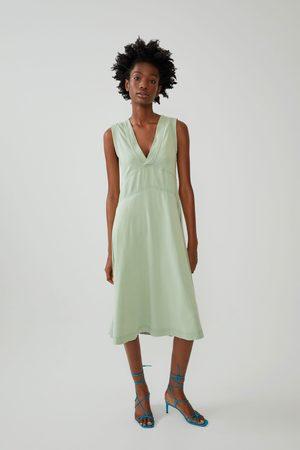 Zara Vestido efecto lavado
