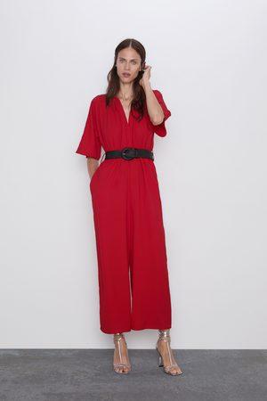 Zara Mono cinturón combinado