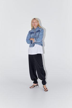 Zara Mujer De mezclilla - Cazadora denim básica