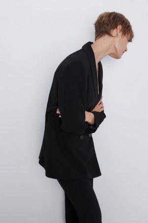 Zara Blazer cuello smoking