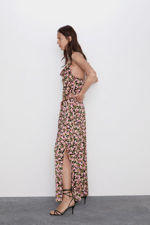 Zara Mujer Largos - Mono estampado floral