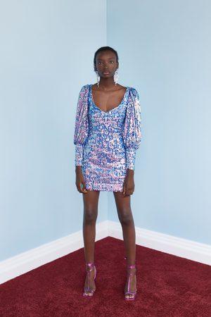 Zara Mujer Cortos - Vestido mini lentejuelas edición limitada
