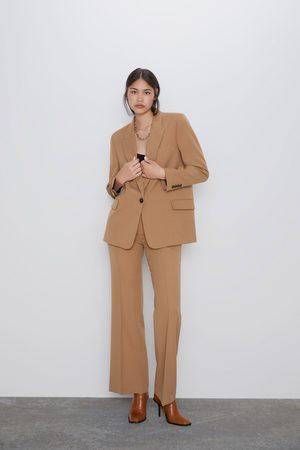 Zara Mujer Sacos - Blazer bolsillos solapa