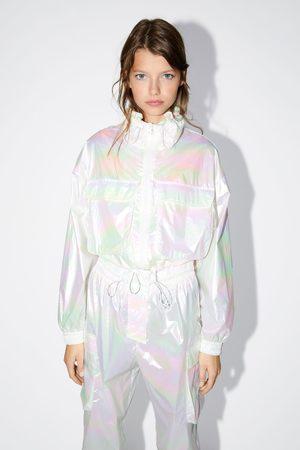 Zara Mujer Abrigos y Chamarras - Chaqueta efecto irisado
