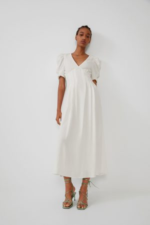 Zara Mujer Vestidos - Vestido estructura volumen