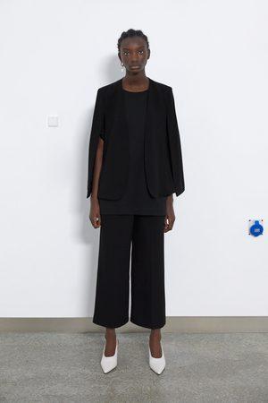 Zara Mujer Ponchos y capas - Capa aberturas